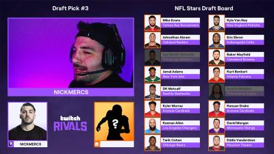 Streamer Bowl Draft Recap